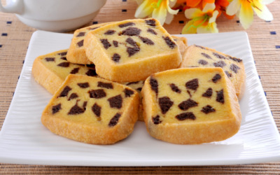 Milk Chocolate Chip Shortbread